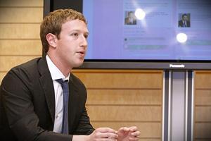 Месячная аудитория Facebook превзошла отметку в 1.000.000.000 человек
