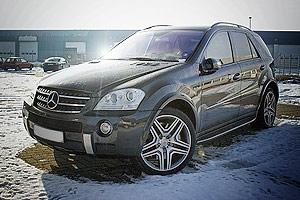 У пенсионерки угнали Mercedes Benz ML 63 AMG за 4 млн рублей