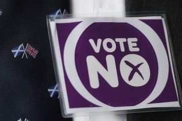 Сторонники независимой Шотландии утирают слезы