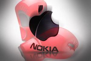 Nokia будет судиться с Apple, который нарушил 7 патентов финского производителя