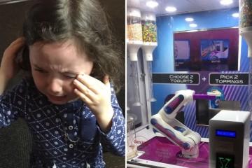 Робот-мороженщик НАСА обидел маленькую девочку