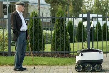 В Виргинии колесных роботов приравняли к пешеходам