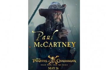 У нас все шансы не узнать Маккартни в новых «Пиратах Карибского моря»