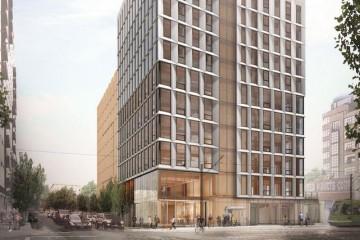 В США строят первый в мире деревянный небоскреб