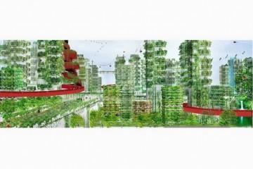 В Китае через 3 года построят город-лес