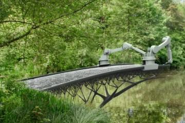 Голландцы и испанцы начали печатать мосты на принтере