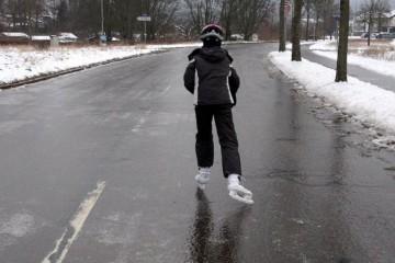 Будущей зимой в Новосибирске нужно применять противогололедные реагенты