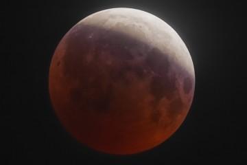 7 августа над Россией взойдет кроваво-красная Луна