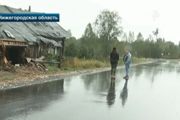 В Нижегородской области дорогу провели через жилой дом, хозяева в шоке