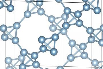 Создан кристаллический металл, который не тонет в воде