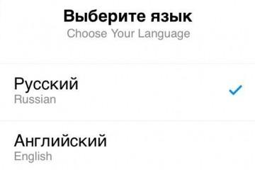 Telegram русифицировали и украинизировали