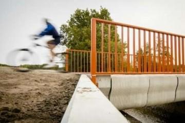 Впервые в мире открыт бетонный 3D-мост