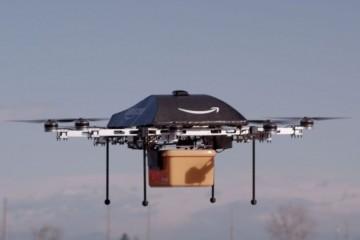 Амазон будет доставлять посылки саморазрушающимися дронами