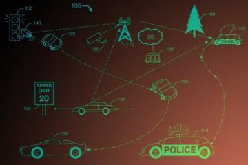 Форд учит беспилотные полицейские автомобили прятаться