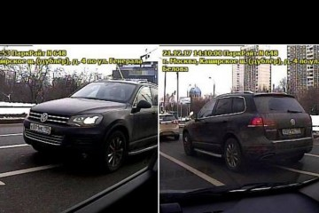 Москвича оштрафовали за «парковку» в пробке