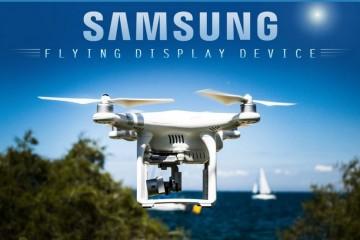 Самсунг запатентовал летающий дисплей, управляемый взглядом