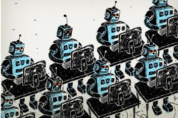 Роботы захватили почти пол-интернета