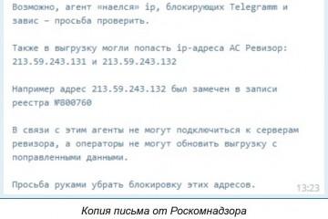 РКН сам себя заблокировал и попросил провайдеров исправить свой «косяк» руками