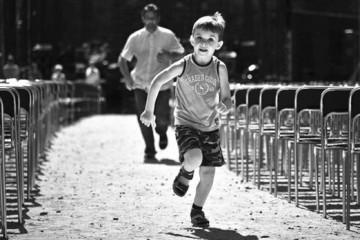 Выносливее детей только марафонцы