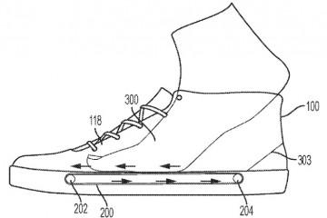 Найк придумал обувь, которая затягивает в себя