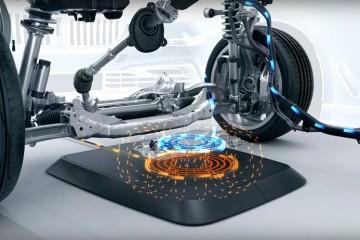 БМВ начинает выпуск беспроводных зарядок для электромобилей