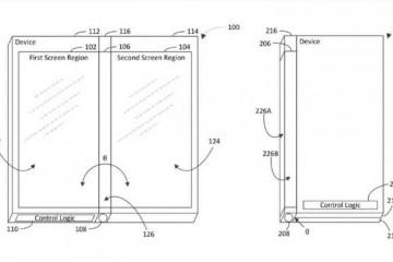 Майкрософт изобрел гибкий смартфон с тремя экранами