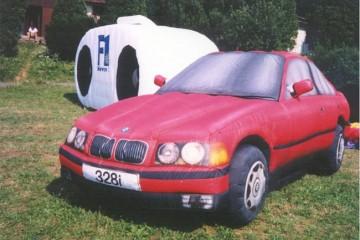 БМВ с MIT создают надувной автомобиль