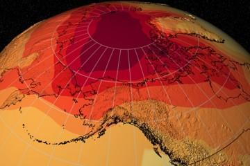 Температура Земли грозит зашкалить за уровень последнего 1,2 млн лет