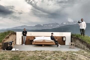 В Швейцарии открыт популярный отель под открытым небом «0 звезд»