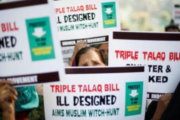 В Индии запретили мгновенный развод