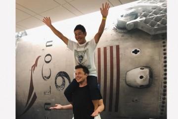 Илон Маск и его первый космический турист нашли друг друга