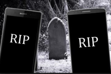 Как в Британии убивают смартфоны