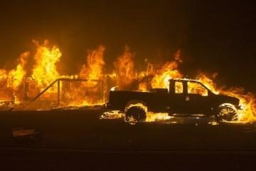 Калифорния: бедствием десятилетий станут аномальные пожары