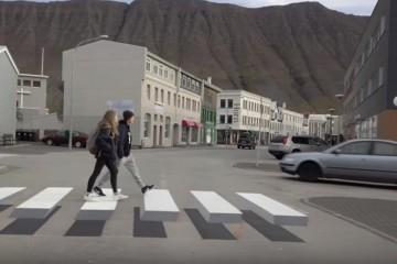Минтранс предложил приподнять «зебры» над дорогой