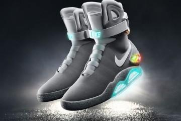 Найк запускает выпуск самошнурующихся кроссовков «Назад в будущее»