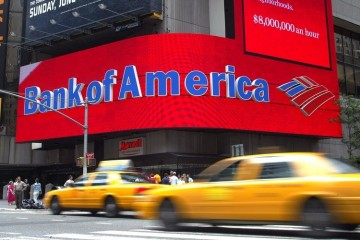 Bank of America обещает доллар по 62 рубля