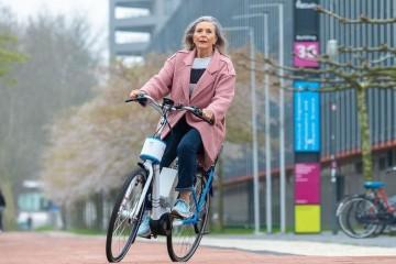 В Нидерландах изобрели велосипед-неваляшку для детей и пожилых