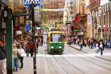 Русские туристы обманывают финнов, расплачиваясь сувенирными деньгами