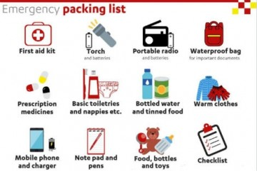 Британские аварийные сумки на случай апокалипсиса