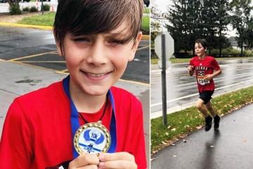 Девятилетний мальчик из Миннесоты по ошибке победил в марафоне