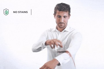 В Испании создана снимающая стресс рубашка, которую невозможно испачкать