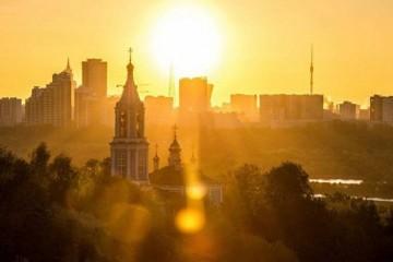 Москвичам обещали рекордное тепло