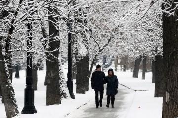 Русская зима превратилась в европейскую